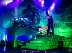 Amon Amarth On Stage At The Roundhouse, London, 2016