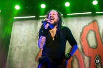 Korn on stage at Manchester Arena 12th December 2016