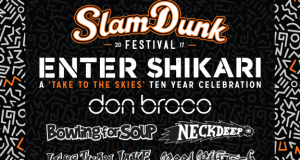 Slam Dunk Festival 2017 February Line Up Header Image