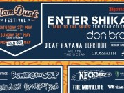 Slam Dunk Festival 2017 Stage Splits Poster Header Image