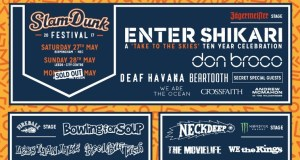 Slam Dunk Festival 2017 Stage Splits Poster Header Image