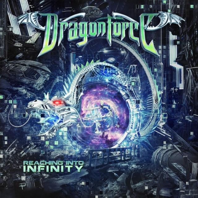 Dragonforce Reaching Into Infinity Album Cover Artwork