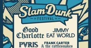 Slam Dunk Festival 2018 Co-Headliners Poster Header