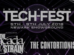Tech-Fest 2018 First Line Up Poster Header Image