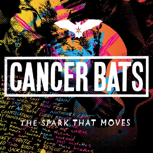 Cancer Bats - The Spark That Moves Album Cover