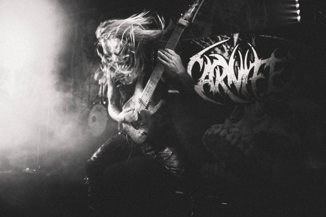 Carnifex Live at The Dome, Tufnell Park, London, Feb 2018