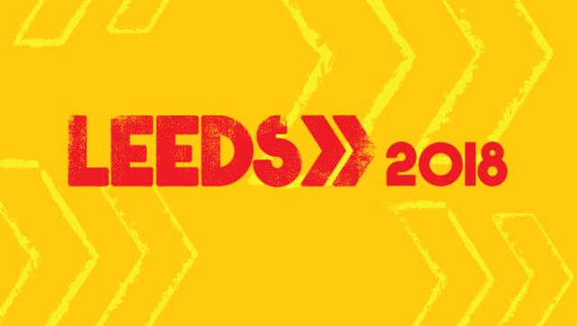 Leeds Festival 2018 Header Logo
