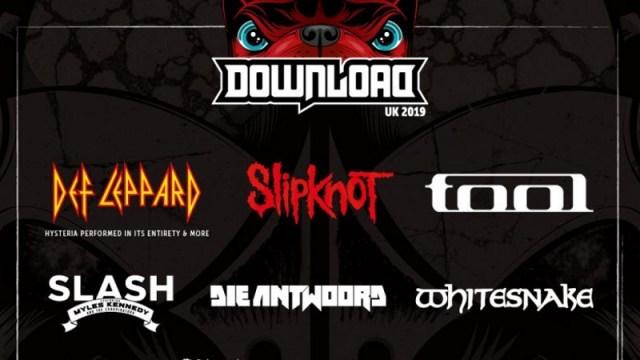 Download Festival 2019 First Line Up Poster Header