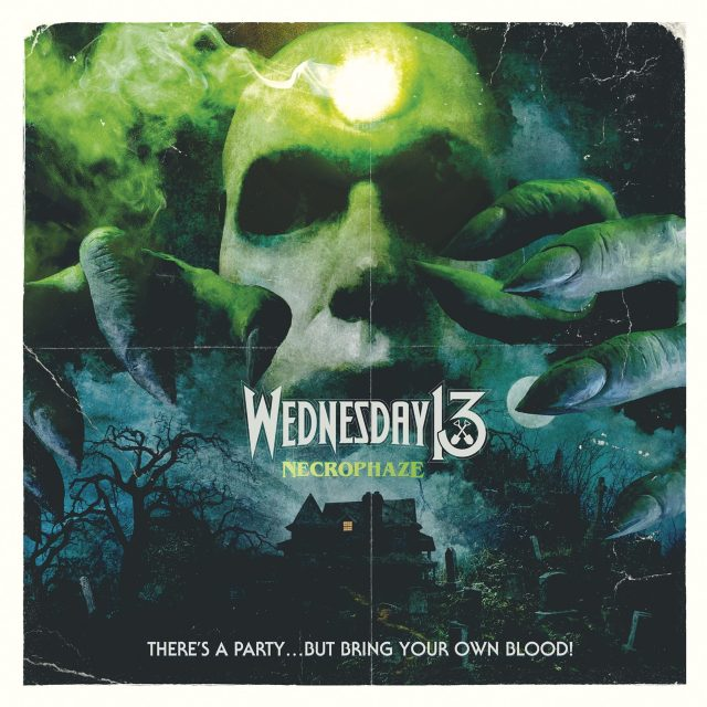 Wednesday 13 - Necrophaze - Artwork