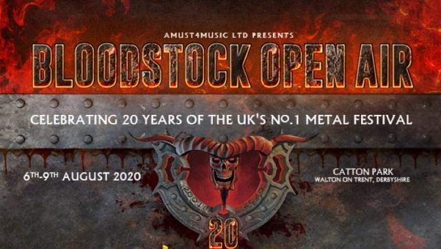 Bloodstock Open Air Festival 2020 Header
