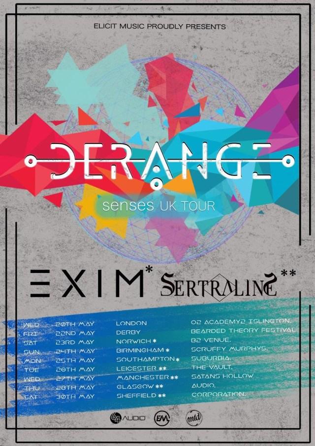 Sertraline Derange UK Tour Poster May 2020