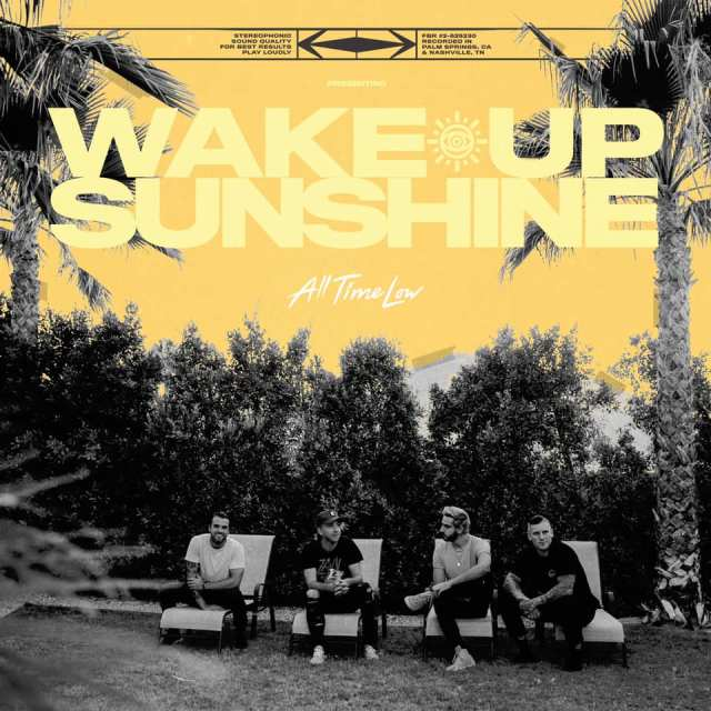 All Time Low - Wake Up Sunshine Album Cover
