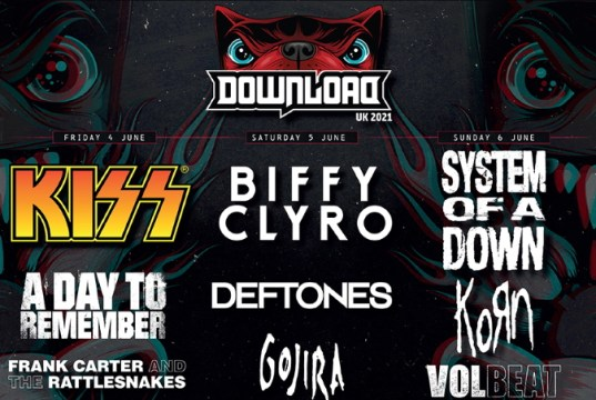 Download Festival 2021 First Lineup - Header Image