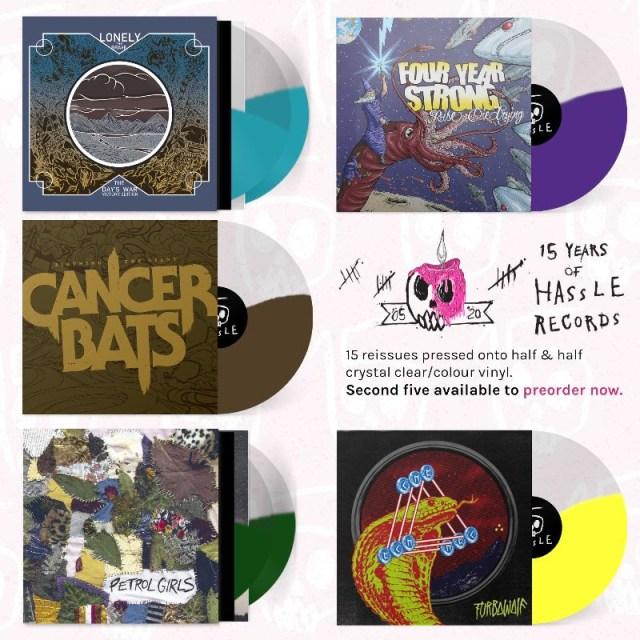 Hassle Records - 15 x 15 Anniversary Series Vinyls