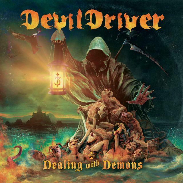 DevilDriver - Dealing With Demons I - Album Cover Artwork