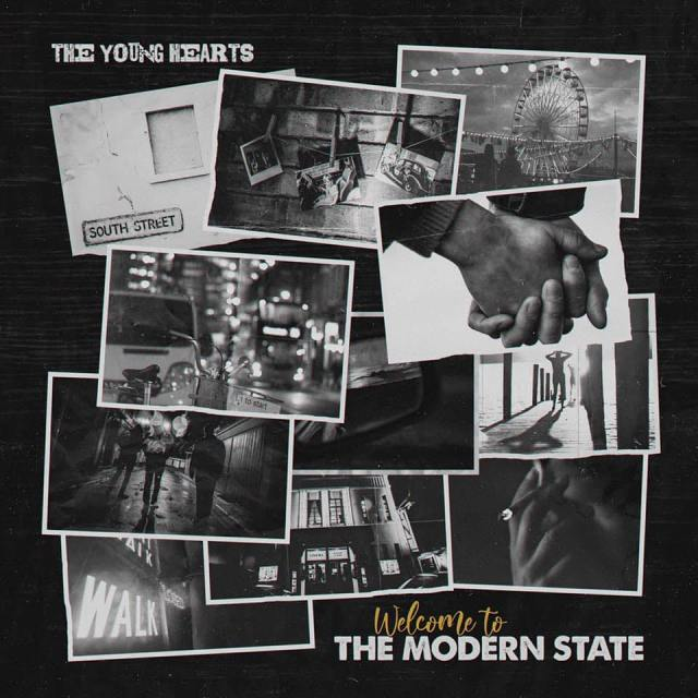 The Young Hearts - The Modern State Album Cover Artwork