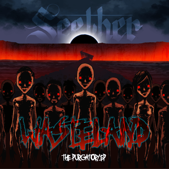 Seether - Wasteland - The Purgatory EP Cover Artwork
