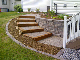 hardscape & retaining wall contractors
