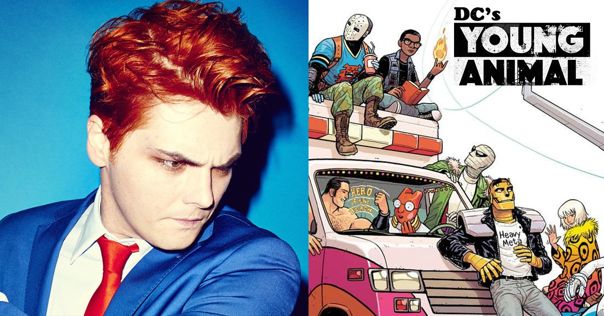 Gerard Way's Comic Line 'Young Animal' Is Closing Down…For Now - News - Rock Sound Magazine