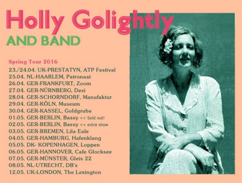 Holly Golightly Spring Tour 2016