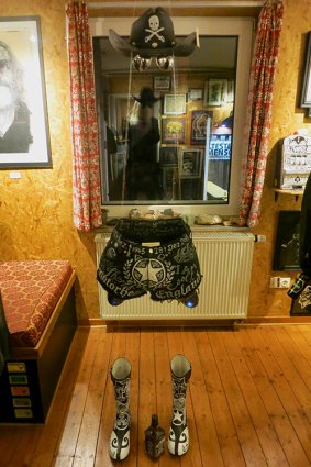 "Ausstellung ""Tribute to the Göd of Rock'n'Roll"" in Marl"