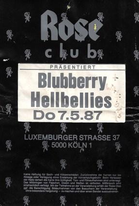 Blubberry Hellbellies 1987
