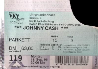 Johnny Cash 1995