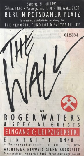 Roger Waters 'The Wall' 1990