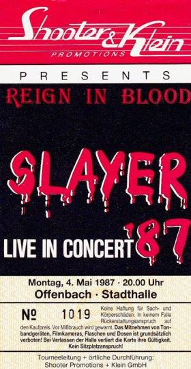 Slayer 1987