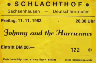 Johnny and the Hurricanes 1983