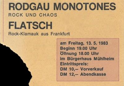Rodgau Monotones & Flatsch 1983