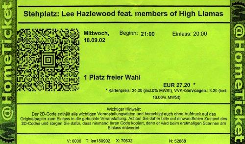 Lee Hazlewood 2002