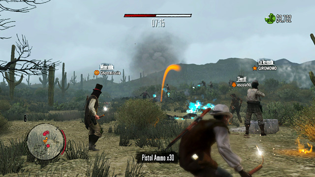 Recap  Screens Red Dead Redemption Undead Nightmare Social Club Multiplayer Event on PSN