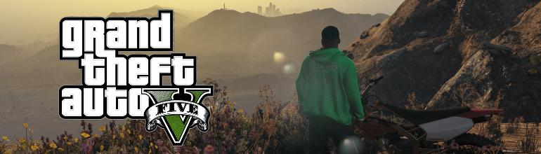 Bannière des ventes de Grand Theft Auto V