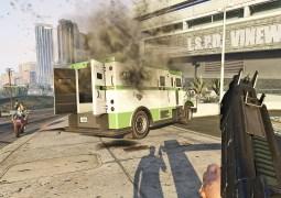 Grand Theft Auto V en Réalité Virtuelle via un Mod