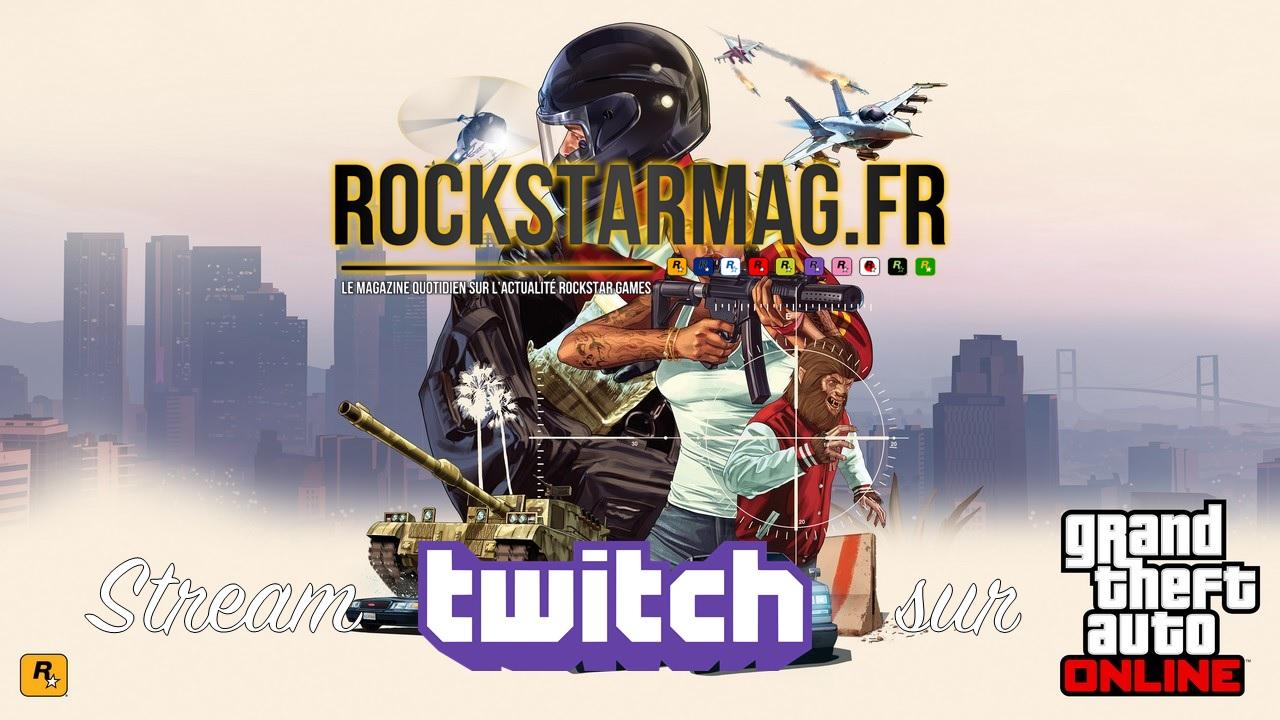 Rockstar Mag sur Twitch