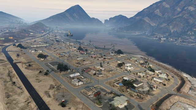 Mystère GTA V Sandy Shores
