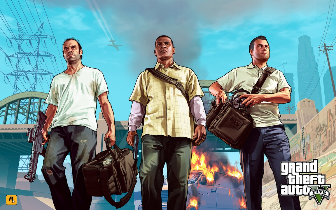 Trevor, Franklin, Michael