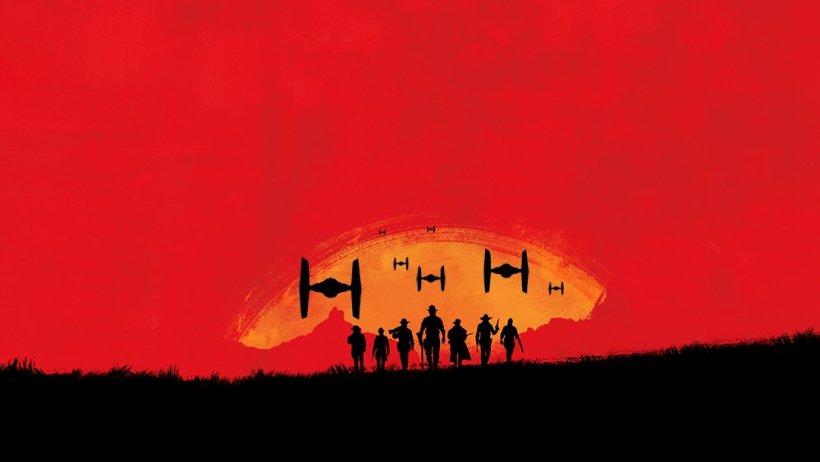 Parodie Star Wars Battlefront Red Dead Redemption 2