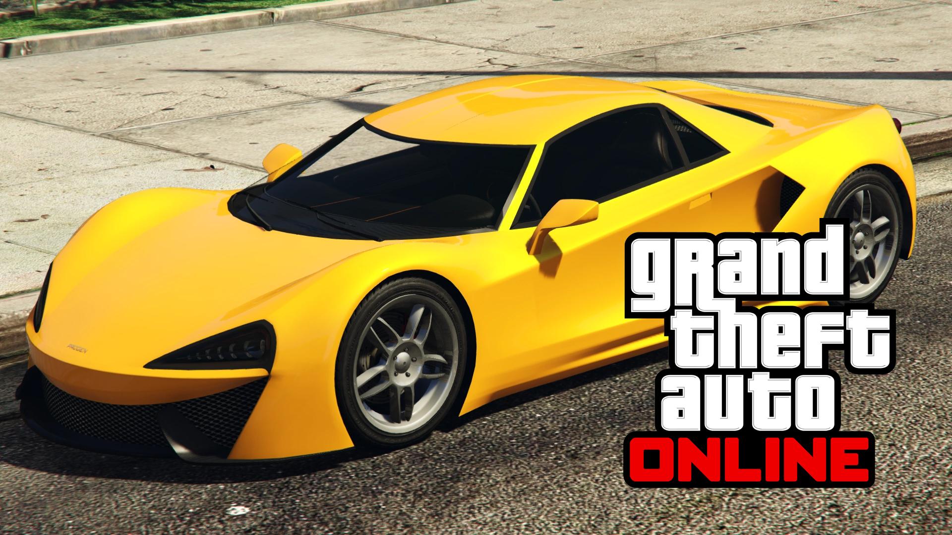 GTA Online Progen Itali GTB