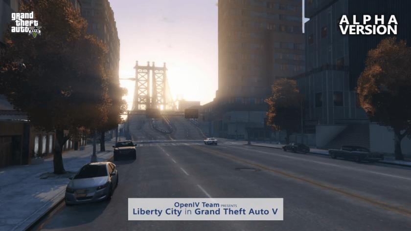 Mod Liberty City GTA V