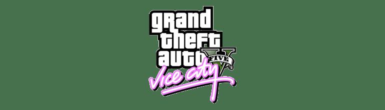 Logo GTA V Vice City