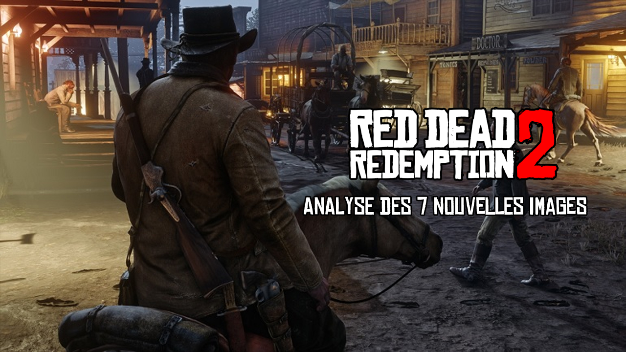 Analyse 7 screenshots Red Dead Redemption 2