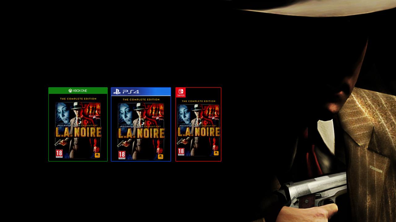 L.A. Noire Nouvelles Rumeurs Remastered et VR