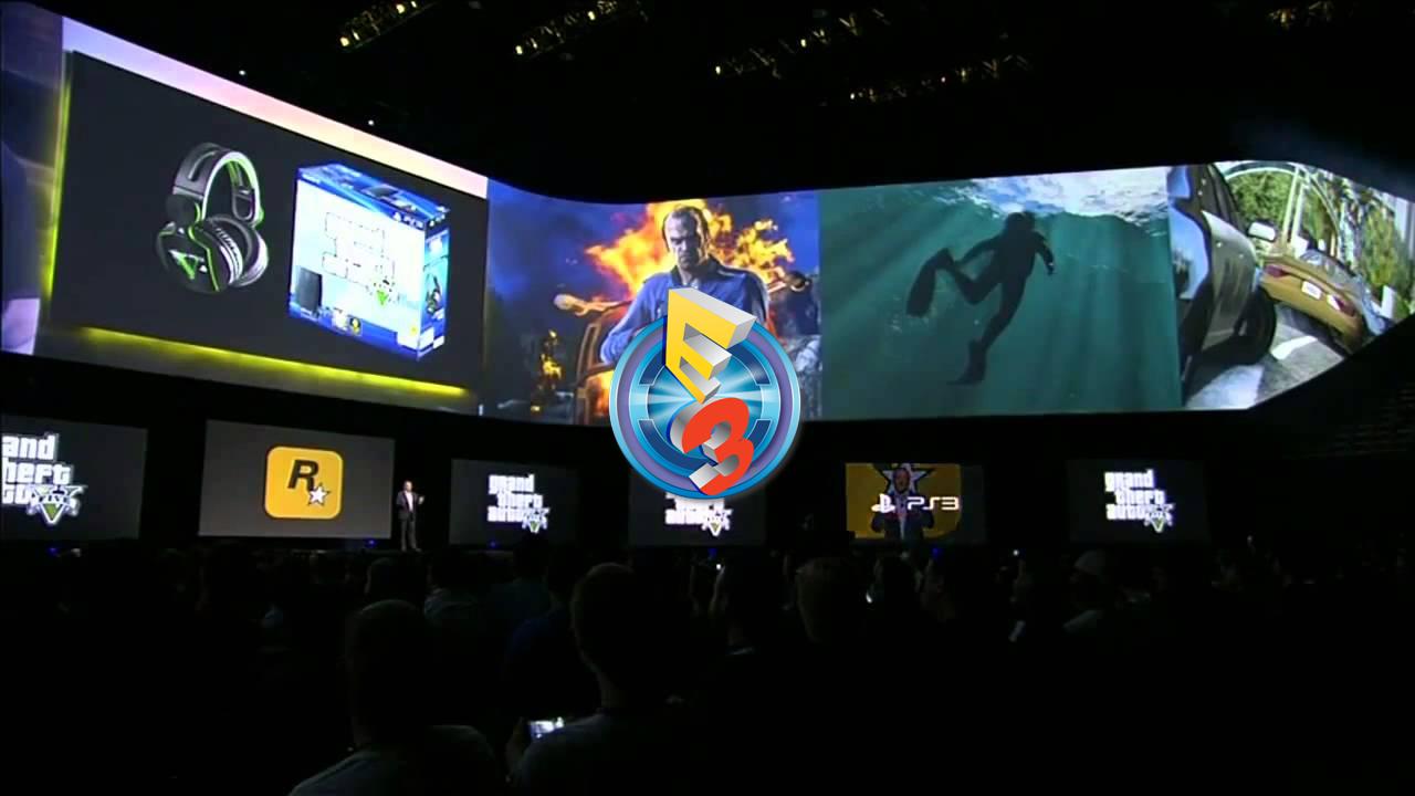 E3 2017 PlayStation Promotion GTA V