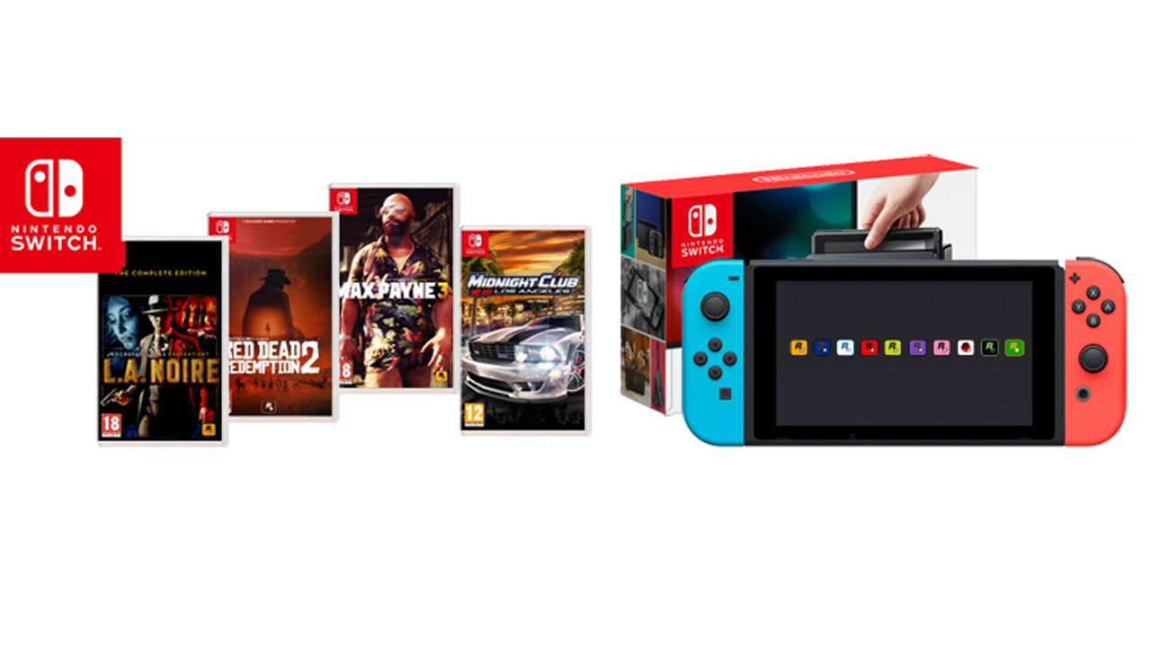 Take Two veut développer des jeux sur Nintendo Switch