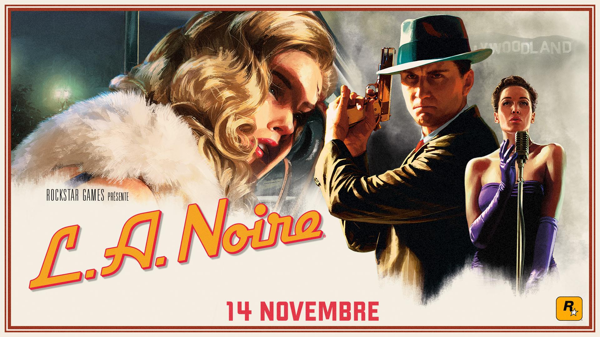 L.A. Noire sur PS4, PS4 Pro, Xbox One, Xbox One X, Nintendo Switch et HTC Vive