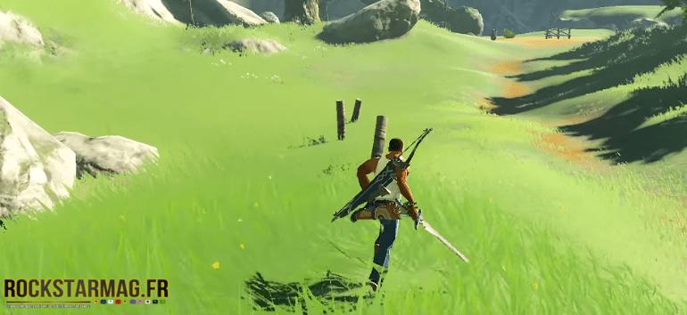 CJ dans le monde de Zelda