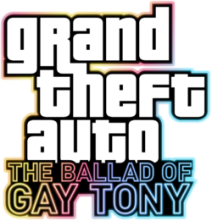 Logo GTA The Ballad of Gay Tony