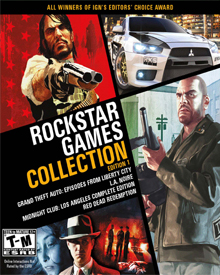Jaquette Rockstar Games Collection Vol.1